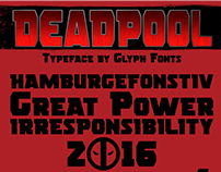 Deadpool typeface (шрифт Дэдпул)