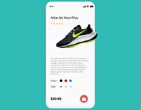Sneaks Store App