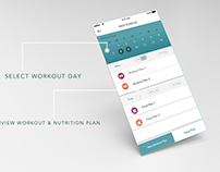UI movement of HighFitness