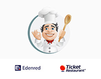 Edenred, Ticket Restaurant - Microsite