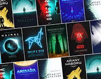 Selected Sci-Fi and Fantasy Book Covers