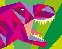 Trianglesaurus Rex / Triangulosaurio Rex
