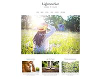Lightworker WordPress Theme