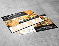 PALIO'S PIZZA CAFE PRINT PRODUCTS