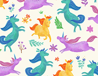 Illustrated and Animated Patterns