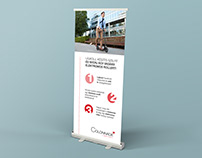 Colonnade roll-up design