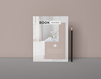 Free Branding PSD Book Mockup Design 2019