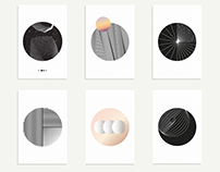 Circles series complete | Prints available
