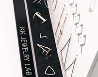 KK Jewelry lab Promo Display Stand