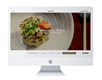 Website Design for Nobu Restaurants