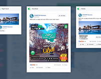 Social Poster Designs - Affiches/Publications - بوسترات