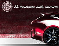 Alfa Romeo #ShootingBrakeChallenge
