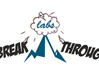 BreakThrough Labs logo design by StartTall Branding