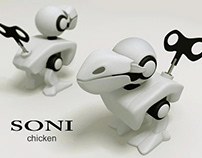 Wind-up toy 2006 | SONI Chicken
