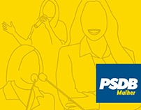 Folder PSDB Mulher