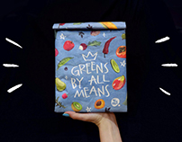Greens by all means! Lunch Bag