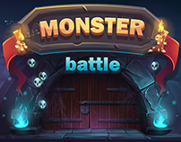 Monster Battle GUI