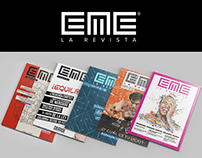 EME La Revista - Editorial Design