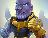 Thanos Fan Art