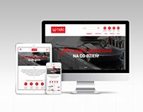 Nela store - website and logo concept