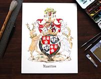 Hamilton Coat of arms