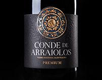 Conde de Arraiolos || Wine Label & Packaging Design