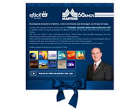 E-mail Marketing - Martins Atacadista 60 Anos 2013