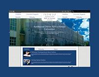 Web site design for university
