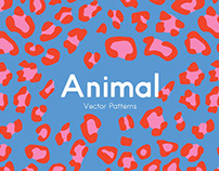Animal Print Vector Patterns By: Emma.Make