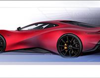 Aston Martin Red Essence