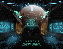 Spaceship UI and other HUD concept