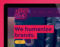 Zero Two - Logo and Website Design
