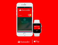 Santander Apple Pay