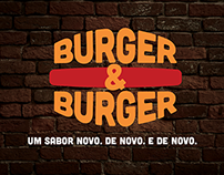 Burger&Burger | Logo & Identidade Visual