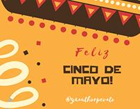 Cinco de Mayo Instagram campaign