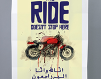 SRVNT - The Ride Poster