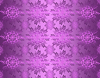 Floral gradient pattern