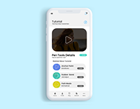 Video Blog UI