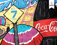 The Coca-Cola Summer Art Project