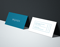 Woash Wellness Branding