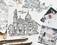 Travel Illustrations (I)