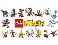 Lego Mixels Character Designs for Cartoon Network