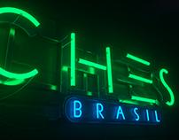 Neon Sign 3D - CHVRCHES