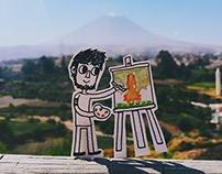 Dibujos en Arequipa