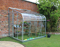 Halls Greenhouse Lean to