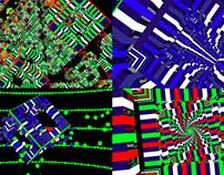 Cube Beat - VJ Loop Pack (4in1)