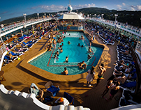 Onboard a Cruise Ship