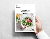 Lobby Bar Menu