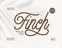 Finch - Monoline Script Font