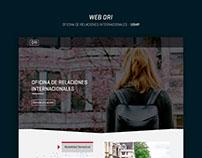 Diseño web - ORI